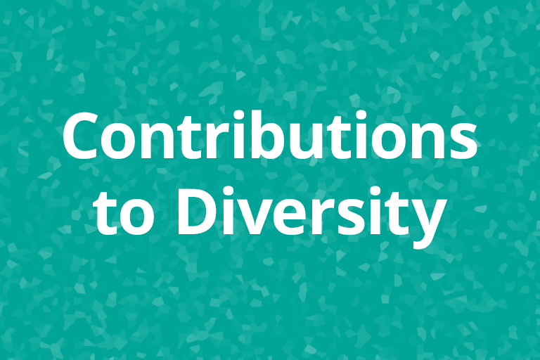 Contributions to Diversity