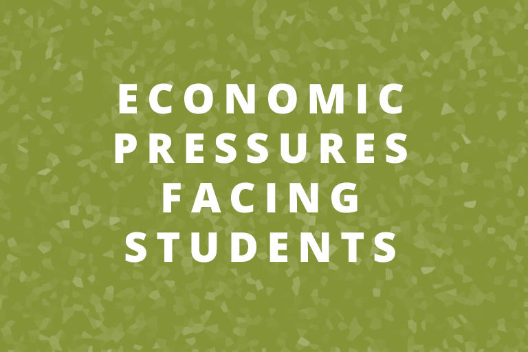economic pressures facing berkeley students