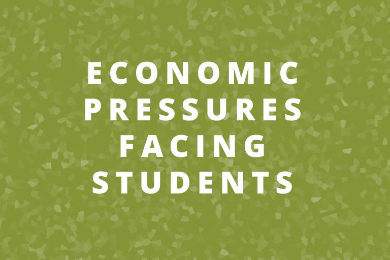 economic pressures facing berkeley students