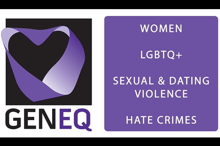 GenEq logo - purple