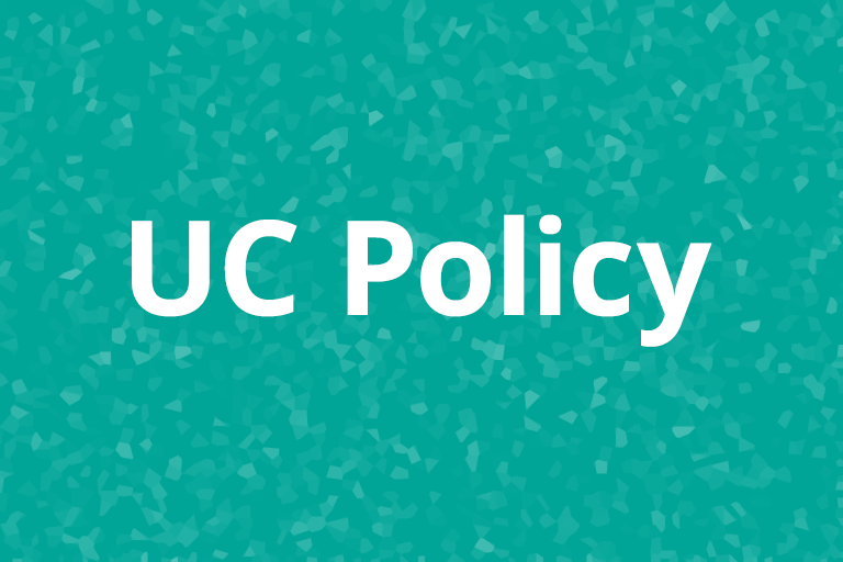 UC Policy