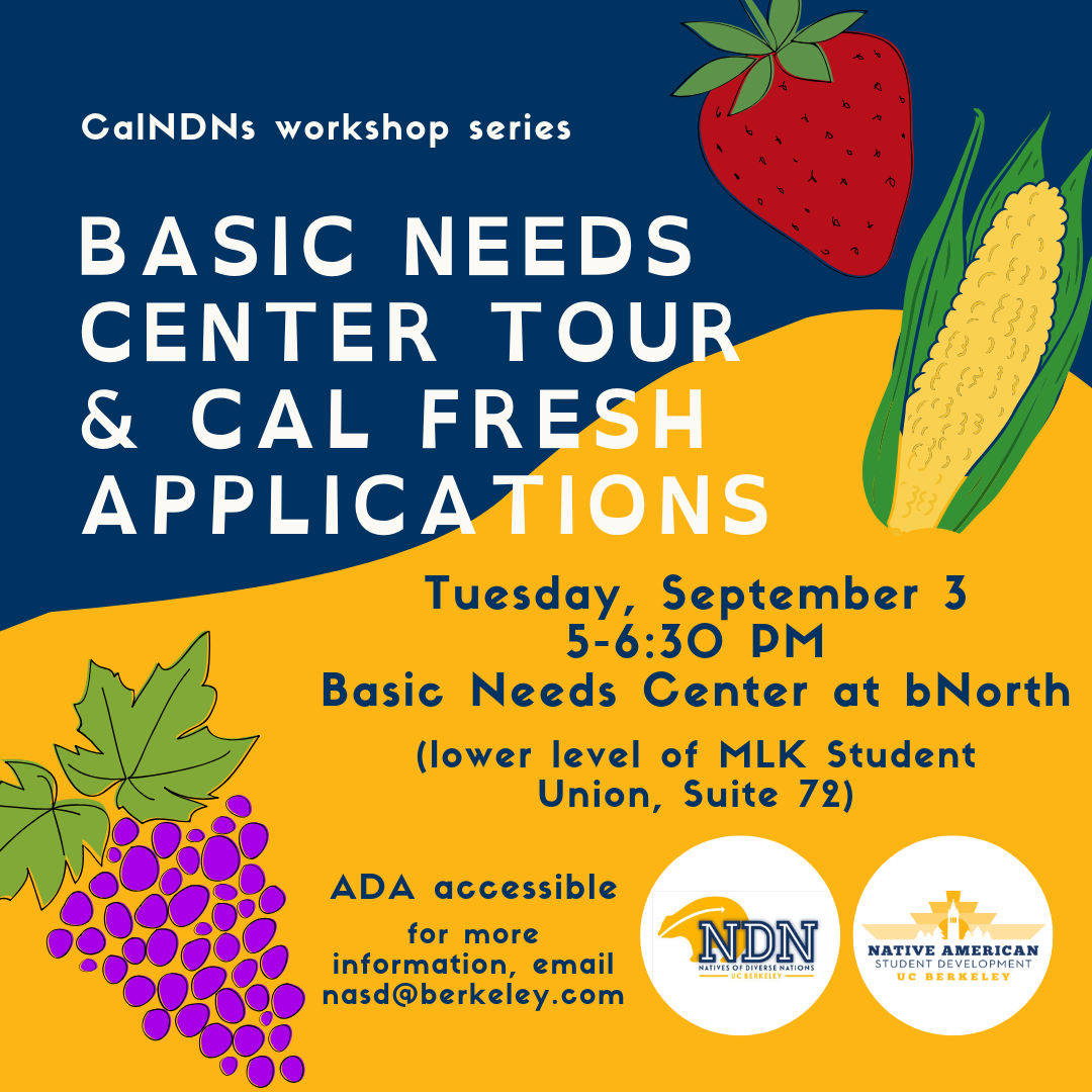 Basic Needs Center Tour & Cal Fresh Applications