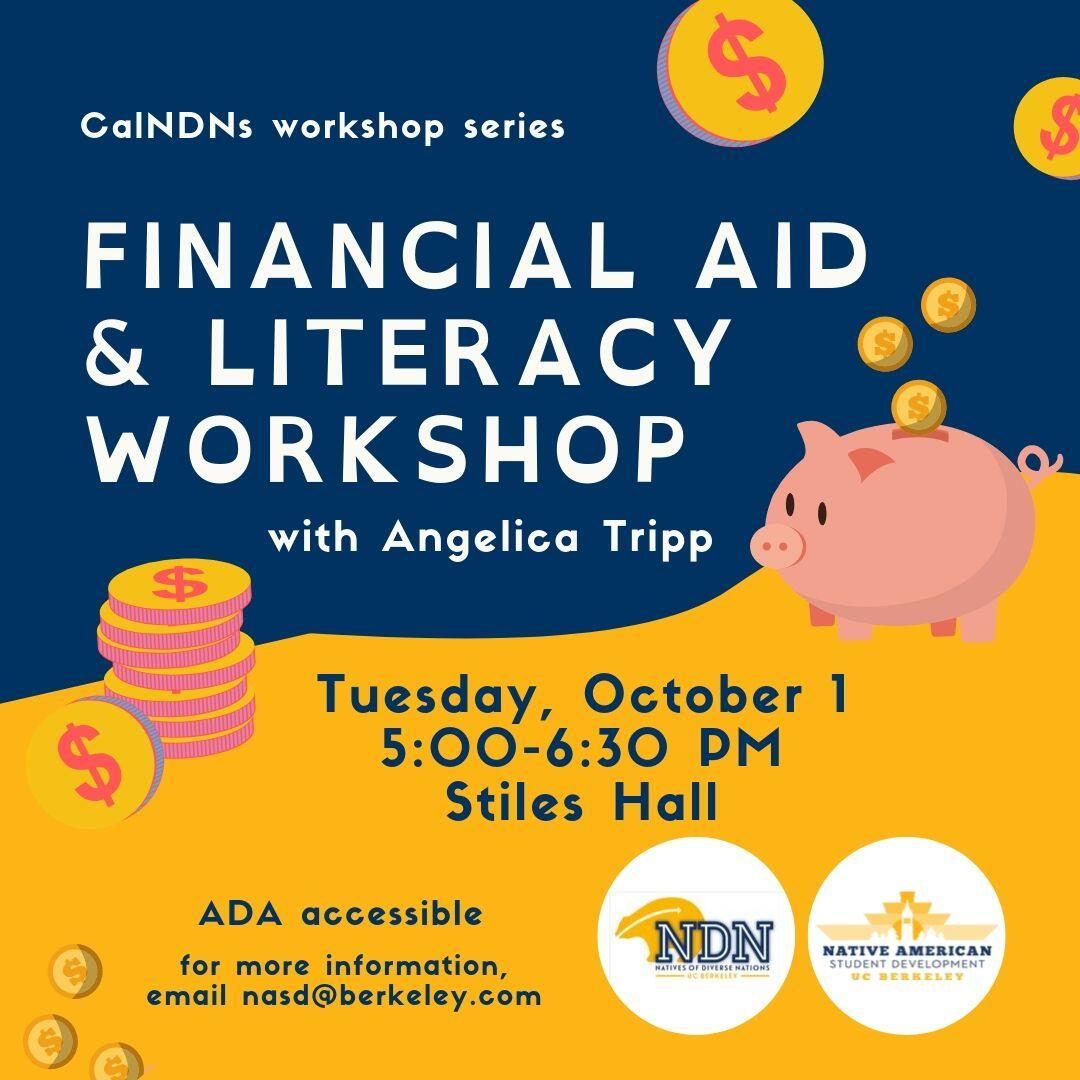 Financial Aid and Literacy Workshop