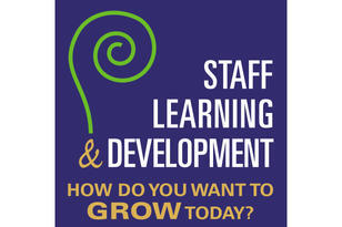 image of a plant growing with the text 'grow your career'