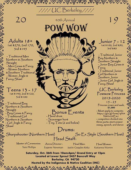 UC Berkeley 40th Pow Wow