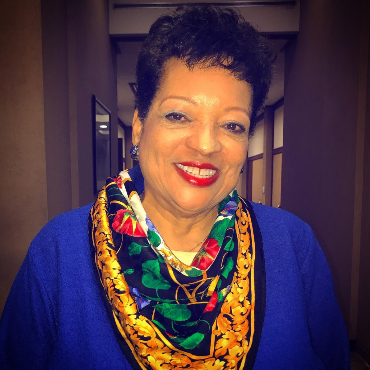 headshot of staff diversity director sidalia reel smiling