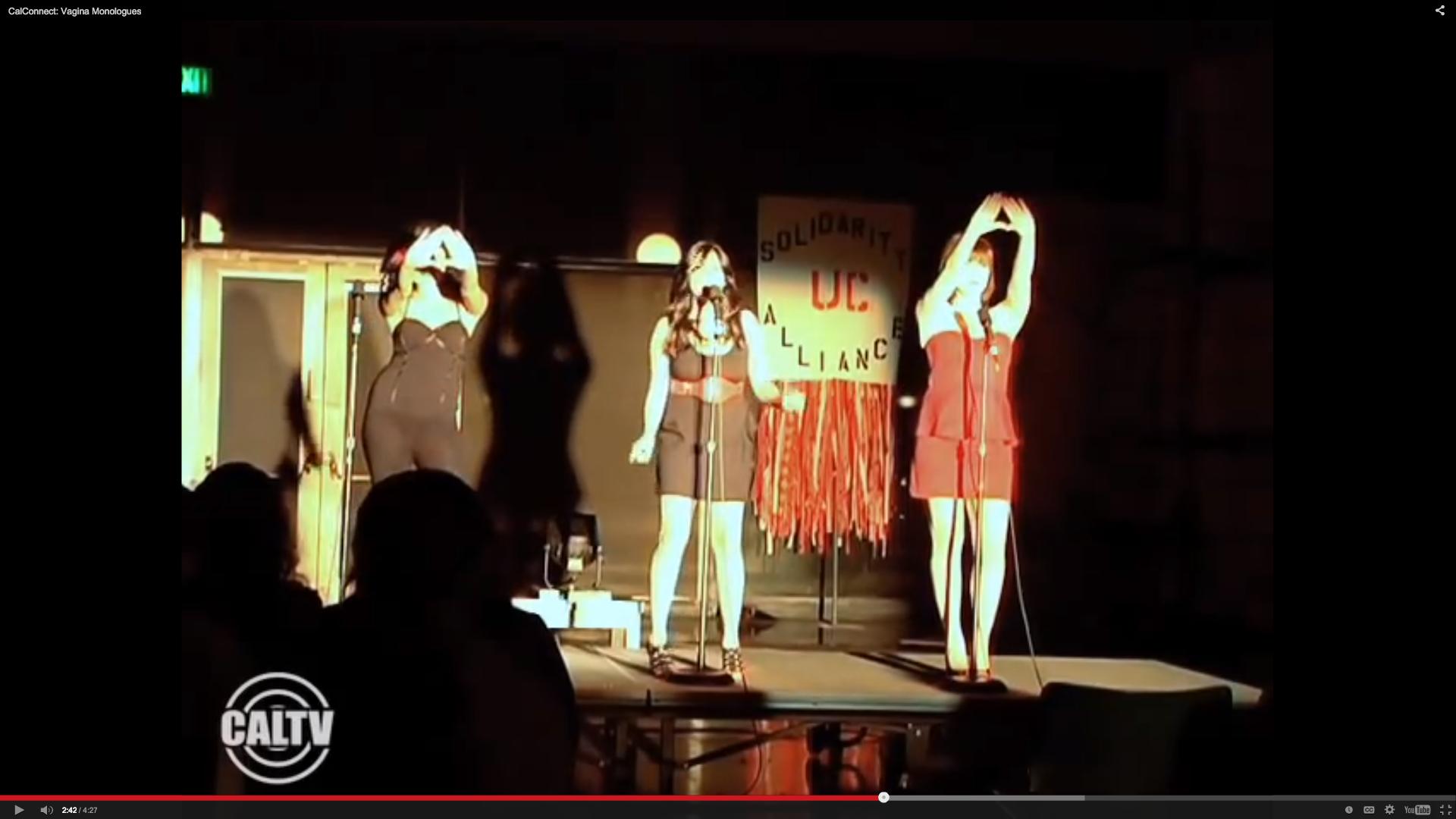 The Vagina Monologues 2012 Video Screenshot