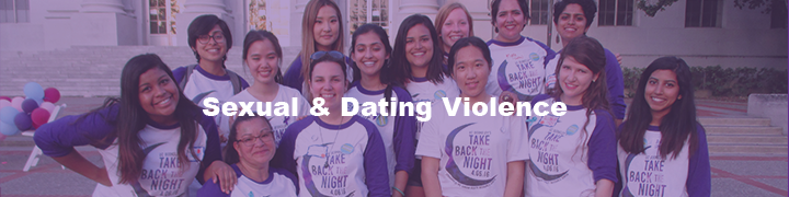 Sexual and Dating Violence Resources Banner