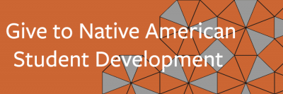 Give to Native American Student Development link