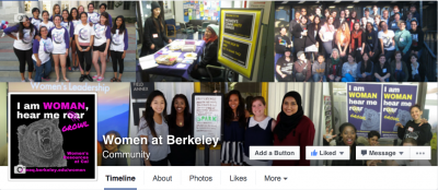 Women at Berkeley Facebook Profile